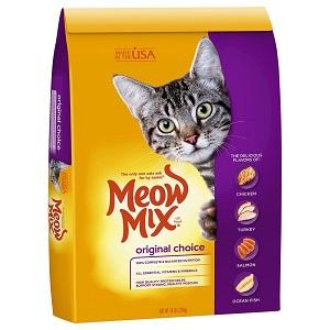 Meow Mix Original Choice Dry Cat Food Adult Kitten