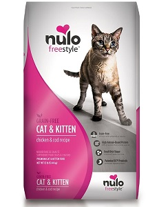 Nulo Adult & Kitten Grain Free Dry Cat Food with BC30 Probiotic