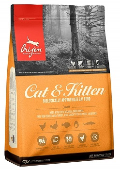 ORIJEN Cat & Kitten High-Protein Grain-Free Premium Quality Meat