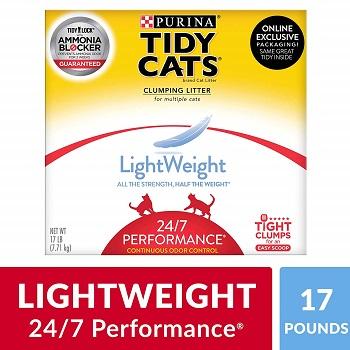 Purina Tidy Cats LightWeight 247 Performance Clumping Cat Litter