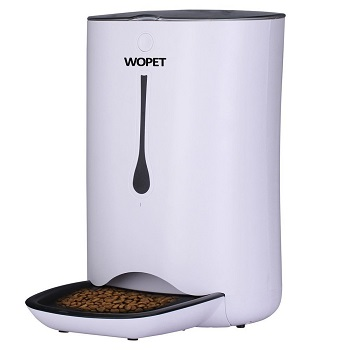 WOPET Automatic Pet Feeder Food Dispenser for Cats
