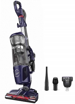 Hoover Power Drive Bagless Multi Floor Upright Vacuum Cleaner with Swivel Steering, for Pet Hair,