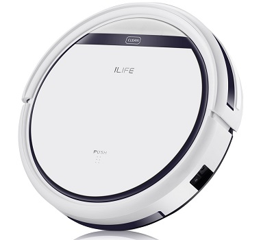 ILIFE V3s Pro Robot Vacuum Cleaner, Tangle-free Suction , Slim, Automatic Self-Charging Robotic Vacuum Cleaner,