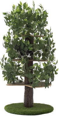 On2Pets Cat Condo Furniture cat tree that looks like a tree