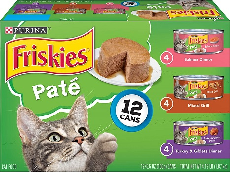 Purina Friskies Wet Cat Food Variety Pack Affordable
