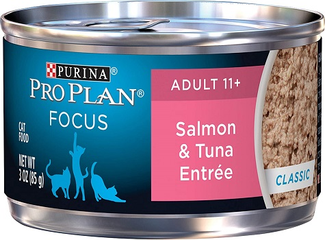 Purina Pro Plan Senior 11+ Canned Wet Cat Food