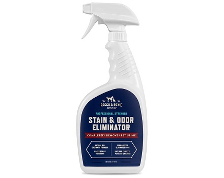Rocco & Roxie Professional Strength Stain & Odor Eliminator - Enzyme-Powered Pet Odor & Stain Remover for Cats Urine