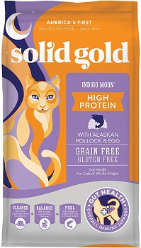Solid Gold Indigo Moon - High Protein & Grain-Free for weight gain