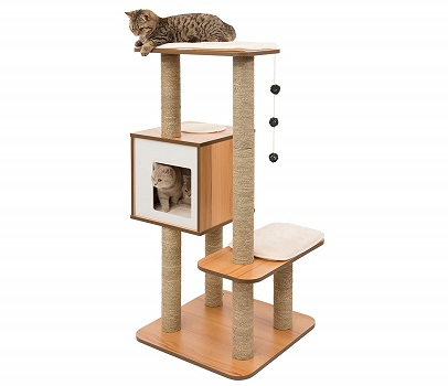 Vesper Cat Furniture, Modern Cat tree