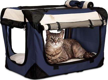 PetLuv Happy Cat Premium Cat Carrier