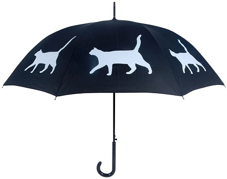 San Francisco Umbrella Co, Black White Cat Umbrella