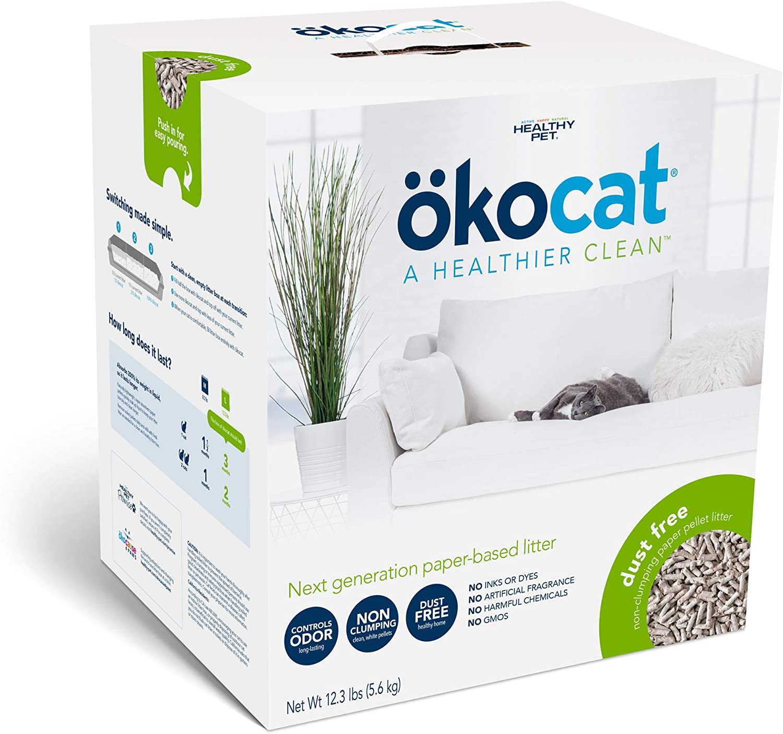 ökocat Natural Paper Cat Litter