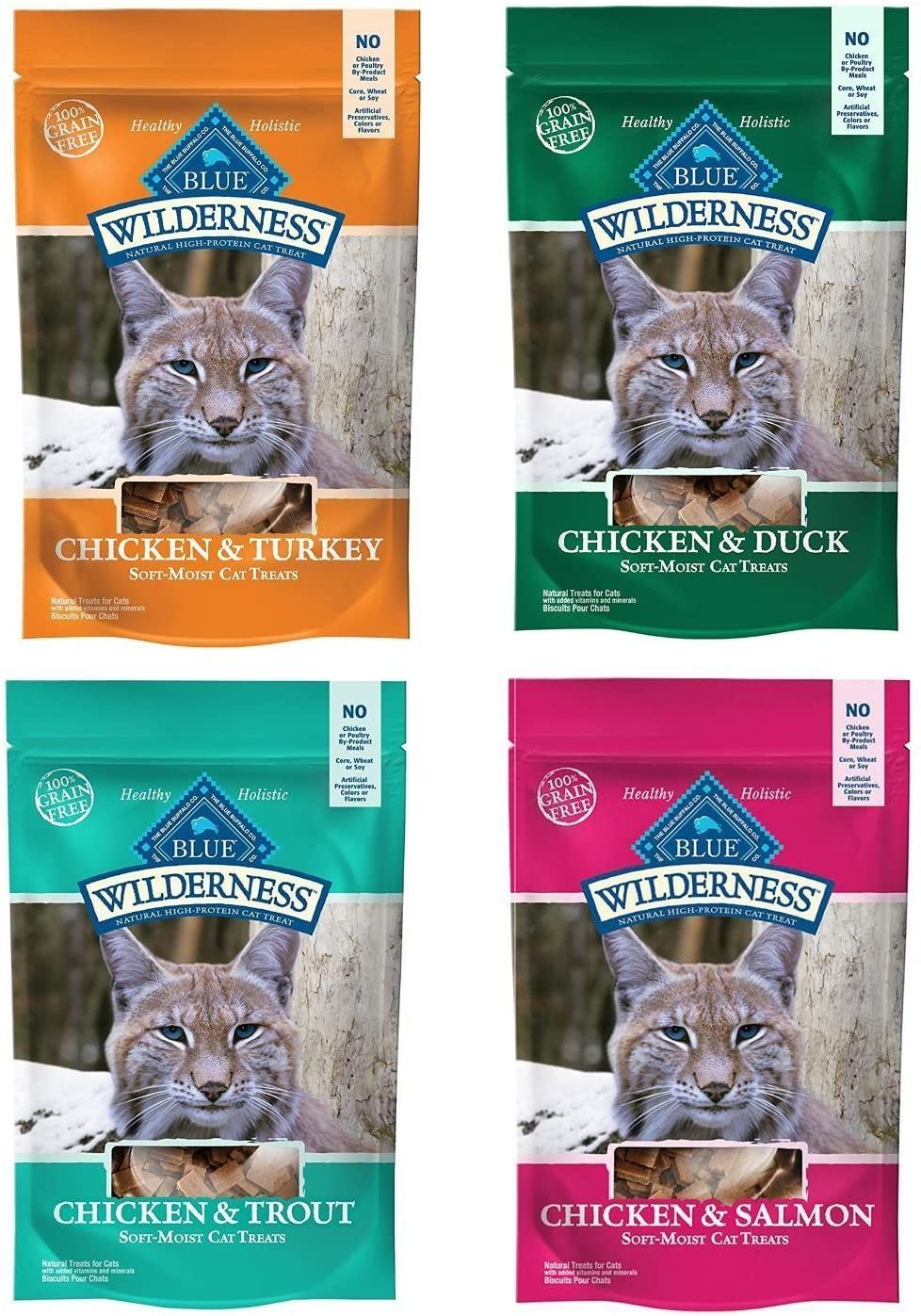 Blue Buffalo Wilderness Soft-Moist Grain-Free Cat Treats